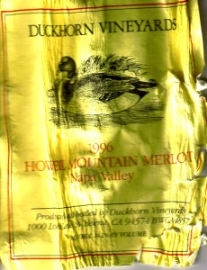 Duckhorn Howel Mtn Merlot