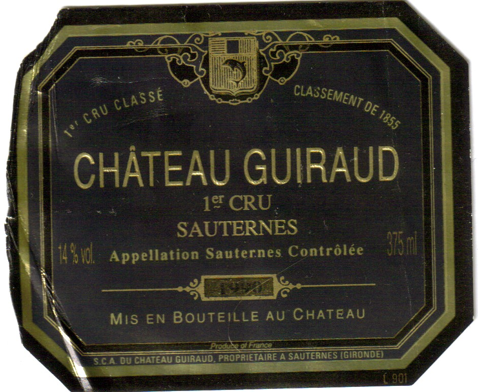 Sauternes And Barsac