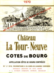 Ch La Tour-Neuve 1970 Bourg