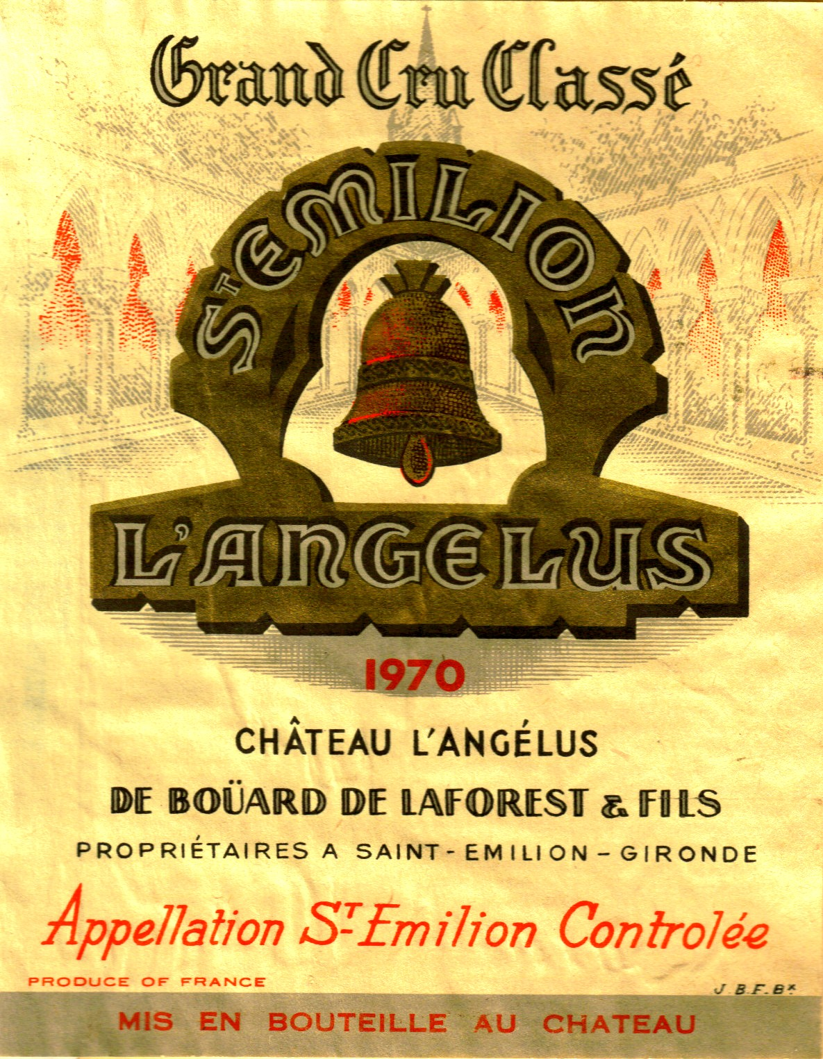 Saint emilion the wine raconteur for Chateau angelus