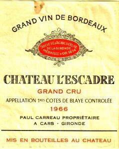 Ch L'Escadre 1966 Blaye