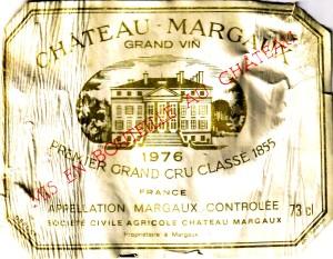 Ch Margaux 1976
