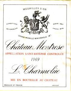 Ch Montrose 1969