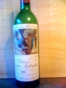 Ch Mouton-Rothschild 1973 DS