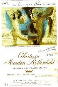 Ch Mouton-Rothschild 1973
