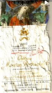 Ch Mouton-Rothschild 1985