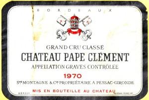 Ch Pape Clement 1970
