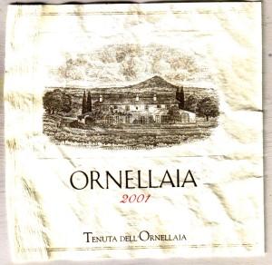 Ornellaia 2001