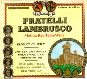 Lambrusco Fratelli
