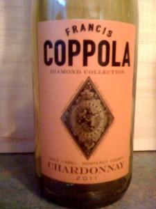 Coppola Chardonnay 2011