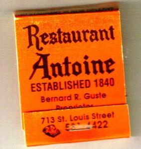 LA Restaurant Antoine MB