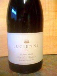 Lucienne Pinot Noir 2010
