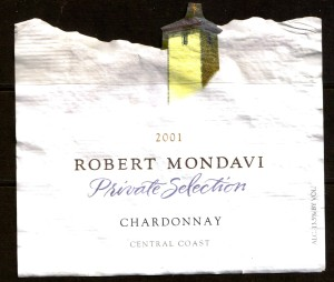 Mondavi Chardonnay 2001