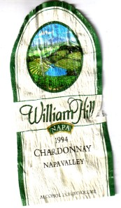 William Hill Chardonnay 1994