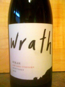 Wrath Syrah 2010