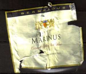 Bermardus Marinus Carmel 1997