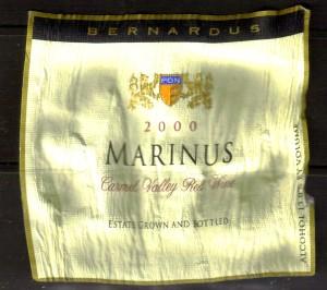 Bernardus Marinus Carmel 2000