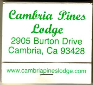CA Cambria Pines Lodge MB