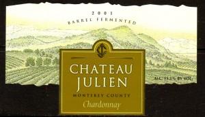 Ch Julien Chardonnay 2001