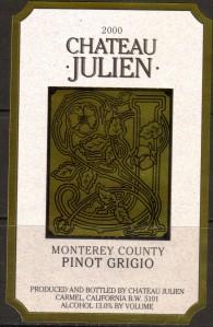 Ch Julien Pinot Grigio 2000