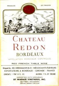 Chateau Redon Bordeaux