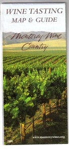 Monterey Wine Tasting Map & Guide