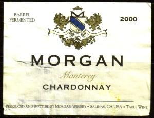 Morgan Chardonnay Monterey 2000