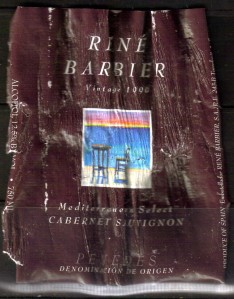Rene Barbier Cabernet Sauvignon Spain 1999