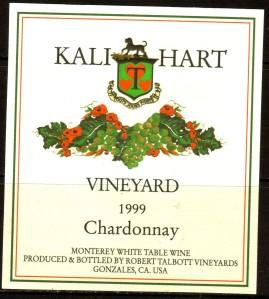 Talbott Chardonnay Kali Hart Vineyard 1999