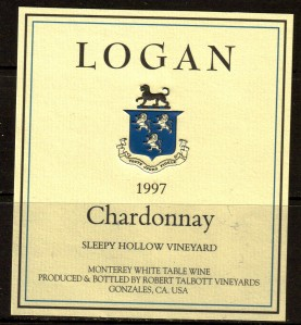 Talbott Logan Chardonnay Sleepy Hollow 1997