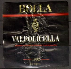 Bolla Valpolicella 1992