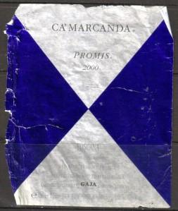 Ca'Marcanda Promis Toscana Gaja 2000