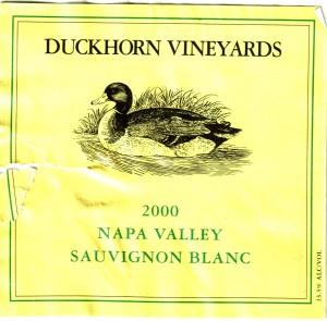 Duckhorn Sauvignon Blanc Napa 2000