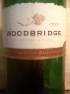 Woodbridge Cabernet Sauvignon 1999