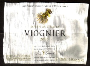 Yalumba Viognier S Australia 2005