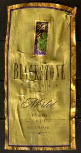Blackstone Merlot 1997