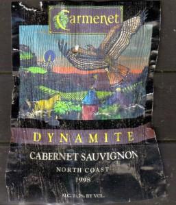 Carmenet Dynamite Cabernet Sauvignon 1998