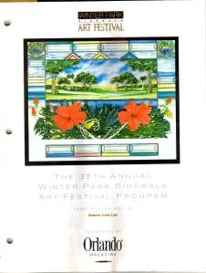 FL Winter Park Art Festival Brochure