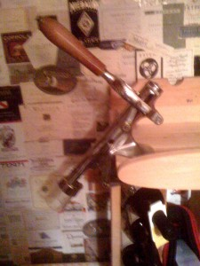 Large Antique Table Top Corkscrew