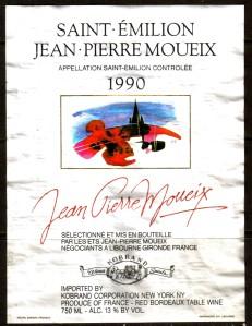 Saint-Emilion Moueix 1990