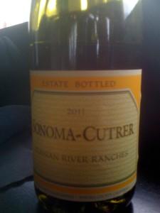 Sonoma-Cutrer Chardonnay Russian River 2011