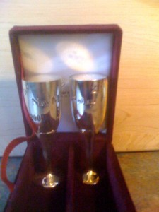 Sterling Glass Shakers