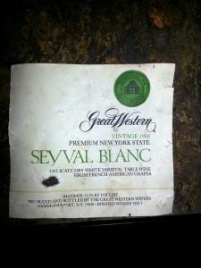 Great Western Seyval Blanc NY 1980