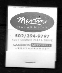 KY Martini Italian Bistro MB