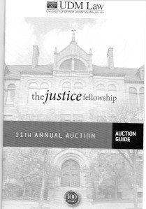 MI The Justice Fellowship Auction Bklt