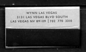 NV Wynn Las Vegas MB