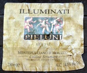 Pieluni Reserve MdA Illuminati 2000
