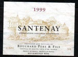 Santenay Bouchard Pere & Fils 1999