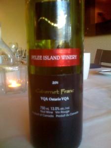 Pelee Island Winery Cabernet Franc 2011