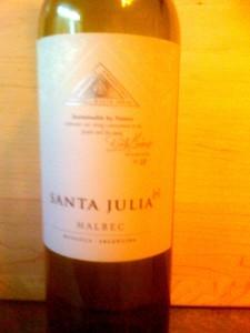 Santa Julia Malbec 2010